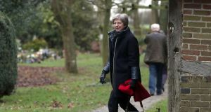 British prime minister Theresa May has come under fire over her Brexit strategy in recent days. Photograph: PA Wire
