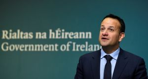 "Taoiseach Leo Varadkar: ""We already have abortion in Ireland but it is unsafe, unregulated and unlawful."" Photograph: Clodagh Kilcoyne, Reuters."