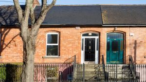 244 Merrion Road, Dublin 4: Seen from the front, the house from the is totally deceptive as to the internal space