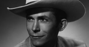 Hank Williams: turned country music upside down with songs that came from the deepest recesses of his being