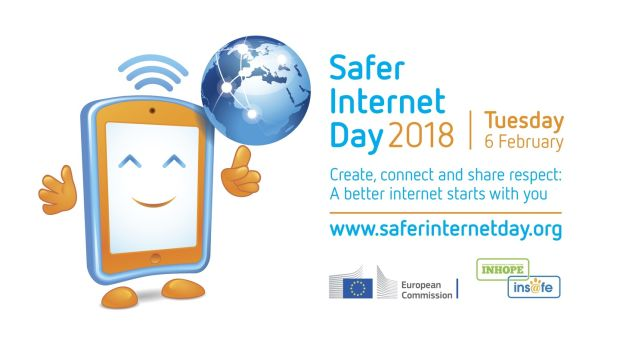 Police supporting dafer internet day