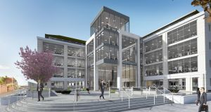 CGI of the new 1GQ: one of only 10 buildings in Ireland to achieve LEED Platinum certification