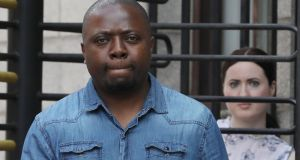 Boniface Nshekoh  had been entitled to Jobseekers Allowance, was not working and should not be punished for 'trying to make something of himself', his counsel told the Dublin District Court before he was acquitted of unlawfully obtaining social welfare payments. Photograph: Collins Courts