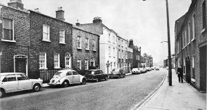 Prussia Street in the 1970s. Photograph: Pat Langan