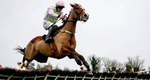Officials are keeping their fingers crossed that Faugheen stays on course to be the headline act of the Dub;in Racing Festival. Photograph: Ryan Byrne/Inpho