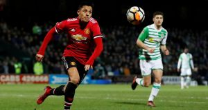 José Mourinho is not planning on signing any more attacking players for Manchester United having captured  Alexis Sanchez. Photograph: Paul Childs/Reuters