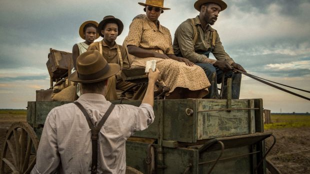 A scene from the film 'Mudbound', nominated for four Oscars on January 23rd. Photograph: Steve Dietl/Netflix via AP