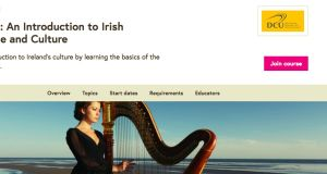 Irish 101 is hosted on the Open University's online education platform FutureLearn.