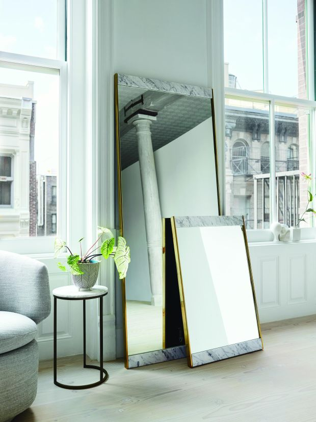 8. West Elm mirrors