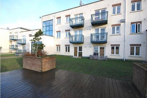 In a gated development, this ground-floor apartment in Clondalkin is 46.5sq m
