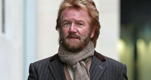 Noel  Edmonds said he had secured a 'seven-figure' sum from specialist litigation funder Therium to bankroll his case. Photograph: PA Wire