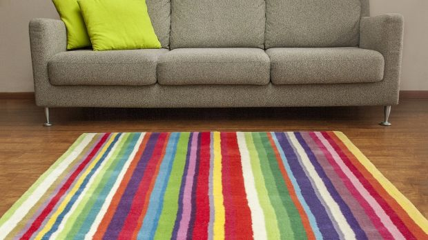 The right rug can create impact, style and warmth, says interior designer Caroline Flannery