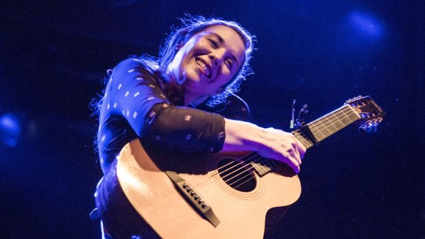 Lisa Hannigan: 21st century songs at the NCH on Saturday. Photograph: Xavi Torrent/WireImage