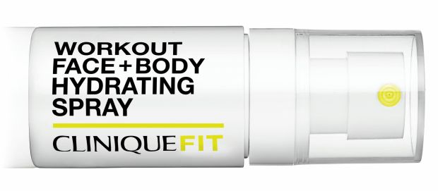 CliniqueFit Workout Face + Body Hydrating Spray (€14)