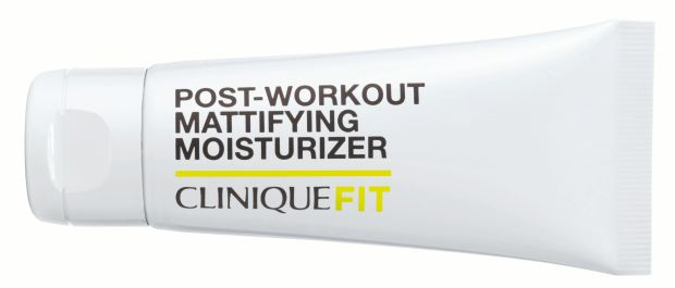 CliniqueFit Post-Workout Mattifying Moisturizer (€29)