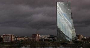 The ECB will examine banks' ability to absorb financial shocks. Photograph: EPA