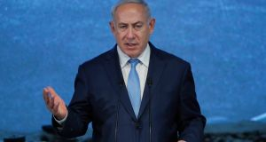 "Israeli prime minister Binyamin Netanyahu said the initiative ""gives backing to those who seek to boycott Israel"". Photograph: Reuters"