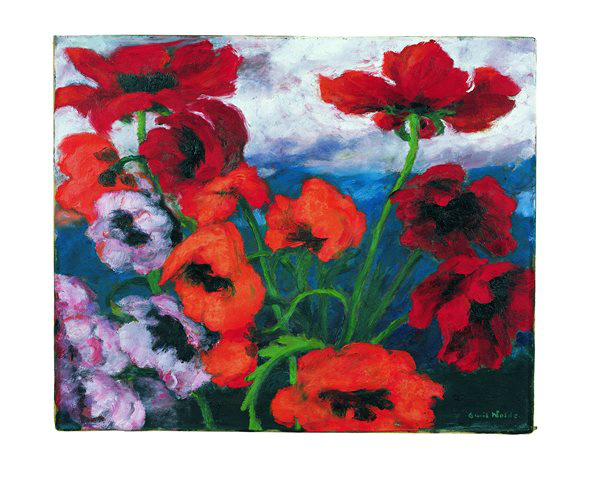 Large Poppies [Red, red, Red], 1943