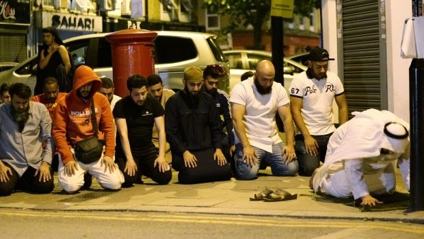 Man radicalised by TV drama rammed van into Muslims near London mosque
