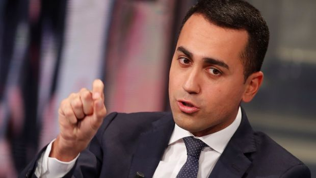 Five Star leader Luigi Di Maio: the movement won 25% of the vote in its first general election in 2013. Photograph: Reuters/Remo Casilli