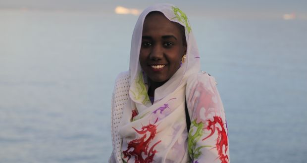Tasneem El-Zaki: hopes to return to Sudan next month to continue her work defending women living in rural Darfur. Photograph: Front Line Defenders
