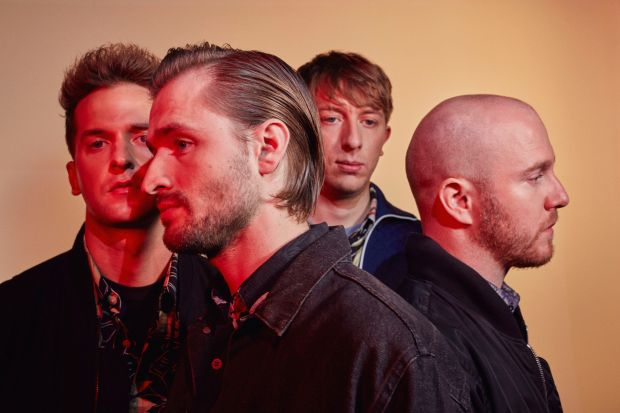 Wild Beasts. Photograph: Tom Andrew