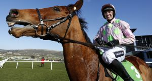 Ruby Walsh on Faugheen: If the old Faugheen shows up at Leopardstown this weekend, it will be a gift from the punting gods.  Photograph: Alan Crowhurst/Getty Images