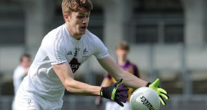 "Kildare's Kevin Feely: ""My priority is football. Everything else can kind of come behind it for now. That's how I'm looking at it."" Photograph: Lorraine O'Sullivan/Inpho"