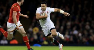 "England's Ben Te'o: ""We want him to hit the line hard, that's what he's good at,"" said England coach Eddie Jones. Photograph: Donall Farmer/Inpho"