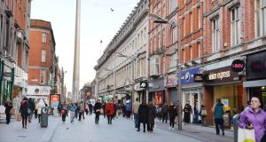 While official retail sales figures for December have yet to be released, Irish consumer spending is thought to have been driven higher by rising wages. Photograph: Alan Betson