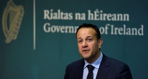 Taoiseach  Leo Varadkar:  the high number of undeclared TDs (22 – more than the 19 in favour of abortion up to 12 weeks) amongst the Fine Gael ranks will be a concern to the Government. Photograph: Clodagh Kilcoyne/Reuters