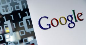 Google is to review pay and conditions at one of its Dublin operations after an investigation revealed it was using third parties to hire workers at low rates, according to the Sunday Times. Photograph: Virginia Mayo/AP