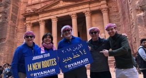 Ryanair said the new routes would collectively deliver almost 500,000 passengers to Amman and Aqaba.