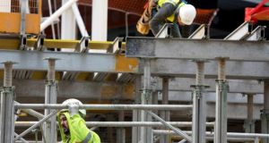 Building firms spent about 35 per cent less on UK goods and services in November