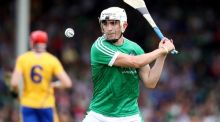 Aaron Gillane scored 1-8 for Limerick against Offaly. Photograph: Tommy Dickson/Inpho