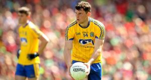 Diarmuid Murtagh's late goal set up Roscommon's comeback win against Tipp. Photograph: Ryan Byrne/Inpho