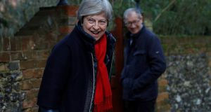 Britain's prime minister Theresa May  will chair two meetings of her Brexit war cabinet  in an attempt to agree on what Britain wants from the next stage of the negotiations. Photograph: Reuters/Peter Nicholls