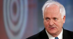 Irish Diaspora Loan Fund board member John Bruton: dismissed criticism the fund is a means for affluent migrants to effectively buy Irish passports. Photograph: Simon Dawson/Bloomberg