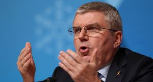 "IOC president Thomas Bach  said the organisation was ""extremely worried"" about how boxing was run and said it was prepared to make bold decisions. Photograph: Mike Egerton/PA Wire"