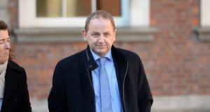 Sgt Maurice McCabe seen outside  the Charleton  Tribunal. Photograph: Alan Betson/The Irish Times
