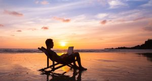 Technology enables us to work from home or on the move. Photograph:iStock