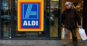 Aldi has voluntarily recalled 38,000 packs of its frozen mixed vegetables after a British grandmother said she found half a rat inside one. File photograph: Suzanne Plunkett/Reuters