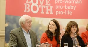 It is just wrong-headed to expect that those who have firm pro-life, anti-abortion convictions will simply exit the stage of public debate and advocacy. They will not be silenced; they will no more beat a genteel retreat than will their fellow-citizens on the other side of the issue. Photograph: Alan Betson