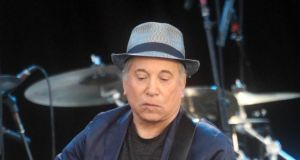 Paul Simon: 'I feel the travel and time away from my wife and family takes a toll that detracts from the joy of playing'. Photograph:  Lewis Whyld/PA Wire