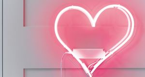 Neon heart by Talking Tables
