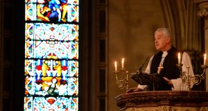 "Church of Ireland Archbishop Michael Jackson says unrestricted access to abortion in the first 12 weeks is ""not an ethical position we can accept"". Photograph: Dara Mac Dónaill/The Irish Times"