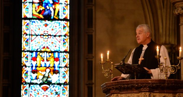 """Church of Ireland Archbishop Michael Jackson says unrestricted access to abortion in the first 12 weeks is """"not an ethical position we can accept"""". Photograph: Dara Mac Dónaill/The Irish Times"""