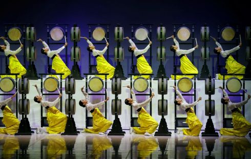 OLYMPIC WARM-UP: Artists perform during the 132nd IOC Session ahead of the 2018 Winter Olympic Games in Pyeongchang, South Korea. Photograph: Kim Hong-Ji/Reuters