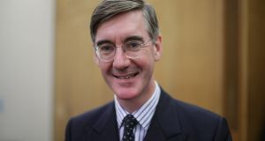 Jacob Rees-Mogg, a backbench MP with the profile of a royal. Photograph: Yui Mok/PA Wire