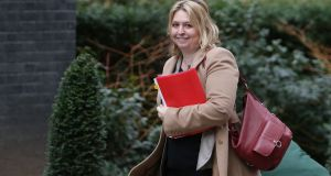 Northern Secretary Karen Bradley indicated good progress had been made in discussions. Photograph: Daniel Leal-Olivas/AFP/Getty Images
